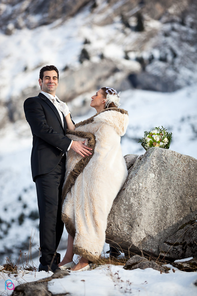 Mathilde & Jeremy: a wedding in La Clusaz ski resort