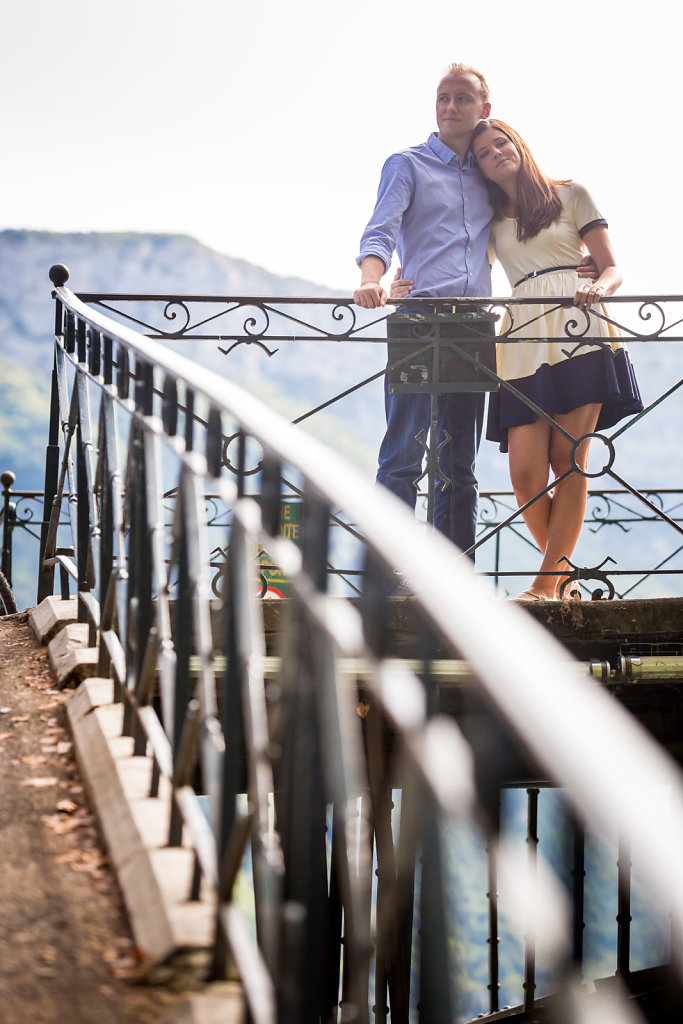Mariel & Quentin -Save the Date in Annecy